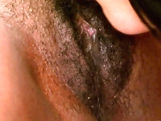 Black Chick Is Eating Tasty Looking Slit Of Insatiable Milky Chick...