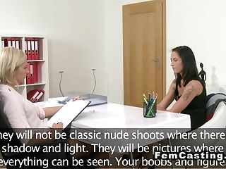 Stunner Has First-ever Girl/girl Hook-up In Casting