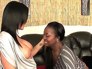 Revved On Girl/girl Mummies Aryana Starr And Kendra Secrets With...